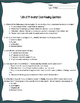 """Life of Pi"" Close Reading Worksheet for Code-X Unit 2"