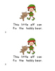 """Little Elf"" printable book"