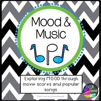 """MOOD Project """"Music & Mood""""- Exploring Literary Terms thro"""