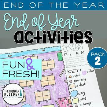 END OF THE YEAR Activities: Fun & Fresh! {Pack #2}