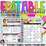 Calendar & Newsletter Template Bundle {Melonheadz Edition}