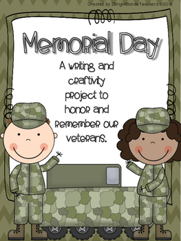 {{Memorial Day Writing and Craftivity Project}}