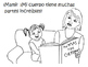 ¡Mi cuerpo! Coloring book, lesson, activities for learning