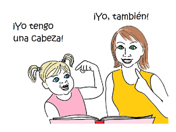 ¡Mi cuerpo!, full- Video/coloring/lesson/activity to learn