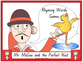 """""""Mr McGee and the Perfect Nest"""" rhyming words games and more!"""