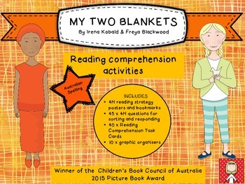 """""""My Two Blankets"""" 4H reading strategy and reading comprehe"""