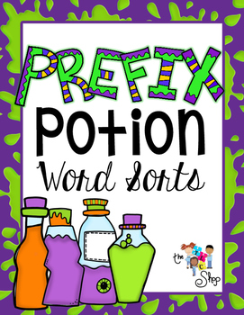 Prefix Potion Word Sort