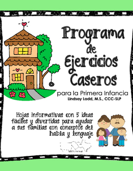 {NEW} Spanish Home Exercise Program Handouts (HEP) for Ear