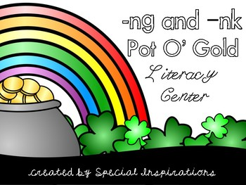 -NG and -NK Pot O' Gold Literacy Center (Orton-Gillingham)