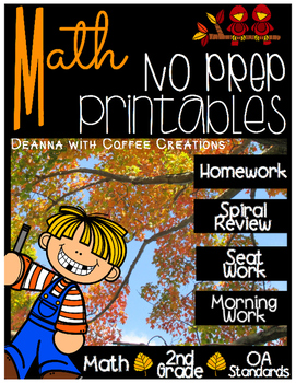 {NO PREP!} Math Printables {2.OA.1, 2.OA.2, 2.OA.3, 2.OA.4}