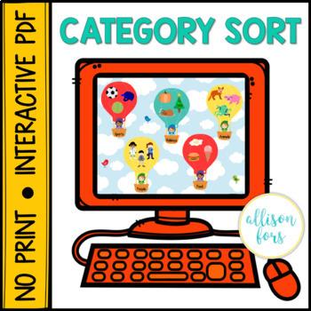 NO PRINT Category Sort