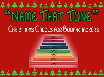 """""""Name that Tune"""" for Boomwhackers (Christmas Carol clips)"""