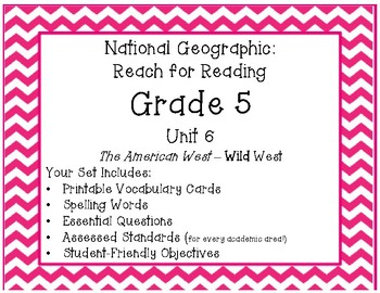 **New**  National Geographic Reach for Reading Grade 5 Uni