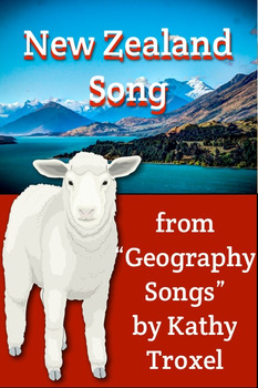 """""""New Zealand Song"""" mp4 Video from """"Geography Songs"""" by Kat"""