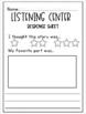 ✎November QR Code Listening Center✎