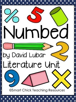 """""""Numbed"""", by David Lubar, Huge Literature Unit, 41 Total Pages!"""