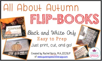 #septslpmusthave All About Autumn {Interactive Flip-Books}