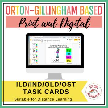 -OST, -OLD, -ILD, -IND Task Box (Orton-Gillingham)