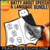 Batty About Speech and Language BUNDLE