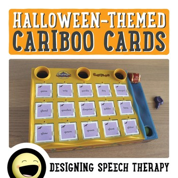 Halloween Articulation Cards for Cariboo