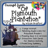 """Of Plymouth Plantation"" by William Bradford"