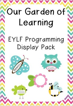 'Our Garden of Learning' EYLF Programming Display Pack