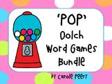 'POP' Dolch Games Bundle
