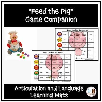 """POP The Pig"" Speech and Langauge Game Companion"