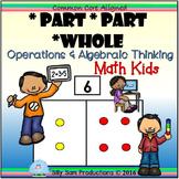 *Part *Part *Whole MATH KIDS Operations & Algebraic Thinking