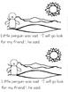 """""""Penguin's Friend"""" Emergent Reader (A Winter/December/Janu"""