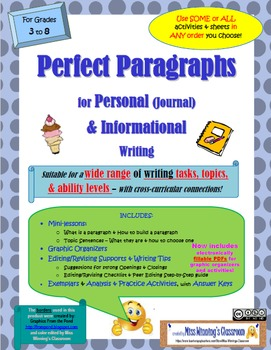 """""""Perfect Paragraphs"""" for Personal (Journal) & Informationa"""