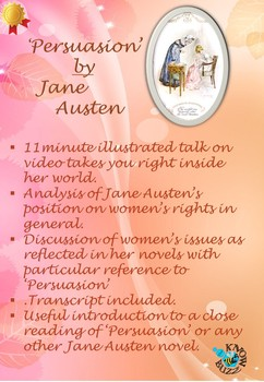 'Persuasion' by Jane Austen - Jane Austen as a feminist writer