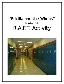 """""""Pricilla and the Wimps"""" by Richard Peck  Short Story R.A."""