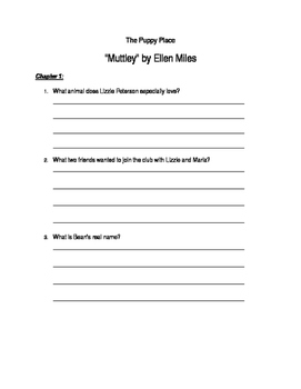 """Puppy Place - Muttley"" by Ellen Miles"