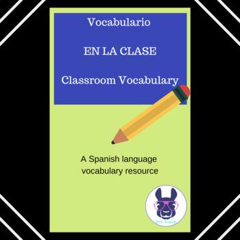 ¿Qué hay en la clase? Vocabulary Practice - Spanish