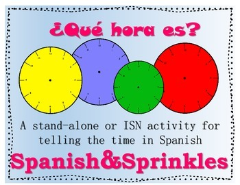 ¿Que hora es? Telling time in Spanish