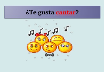 ¿Que te gusta hacer? interactive PPT bundle listening and