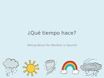 ¿Qué tiempo hace? Spanish Weather Expressions