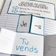 -RE Verb Conjugation Foldable - French Interactive Notebook