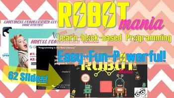 **ROBOTmania*** - Block-based Programming/Coding made Easy!