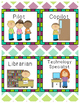 """Real Life"" Classroom Jobs Packet"