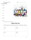 Real Numbers, Order of Operations, Properties (34 page Unit)