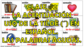 """Reglas de acentuación en español (2) How to mark the grap"