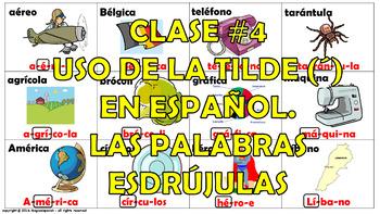 """""""Reglas de acentuación en español (4) /How to mark the gra"""
