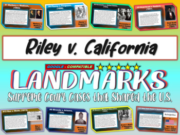 -Riley v. California- Landmark Supreme Court Case (PPT, ha
