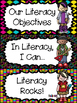 """Rock Star"" Themed First Grade ELA ""I Can"" Statements"