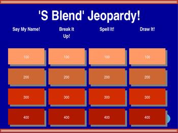 'S Blend' Jeopardy!