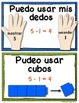 *SPANISH* Solving Math Problems {Subtraction Posters for S