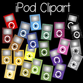 iPod Clipart {FREEBIE}