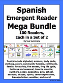 Spanish Emergent Reader Mega Bundle - 100 Sets of 2 Booklets!